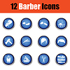 Barbier-Icon-Set