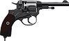 Old Revolver Nagant