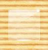 Glass fragile Rahmen, Holz Textur