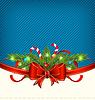 Weihnachtsferien Verpackung, ornamental design