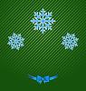Weihnachtsferien Hintergrund mit Schneeflocken