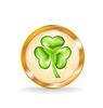 Trefoil Symbol für Saint Patrick Tag