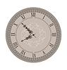 Alte Uhr mit Vignette Arrows