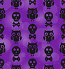 Halloween abstrakte nahtlose Textur