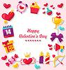 Celebration Karte für Valentine `s Day