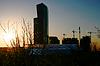 Sonnenuntergang in der Stadt | Stock Foto