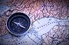 ID 3469979 | Компас на карте | Фото большого размера | CLIPARTO