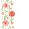 Vektor Cliparts: floraler Hintergrund