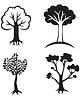 ID 3688580 | Set Bäume icon | Illustration mit hoher Auflösung | CLIPARTO