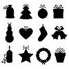Weihnachtsgeschenke und Etiketten