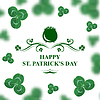 Glückliche St. Patricks Day