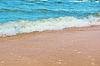 Sand und Welle Hintergrund | Stock Foto