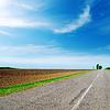 ID 3688560 | Asphalt road to horizon under cloudy sky | Foto stockowe wysokiej rozdzielczości | KLIPARTO