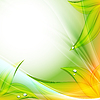 Vektor Cliparts: hellen Blumenhintergrund