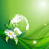 Vektor Cliparts: Umwelt-Konzept.