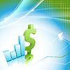 Vektor Cliparts: Finanzierung Statistik Rahmen.