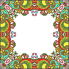 Floral Vintage-Rahmen | Stock Vektrografik