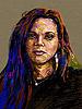 Ursprüngliche digitale Malerei Porträt von Frauen