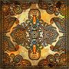 ID 3661849 | Traditionelle Dekorative Blumen Paisleybandana | Foto mit hoher Auflösung | CLIPARTO