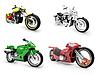 Kolekcja rowerów poglądów | Stock Illustration