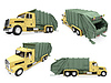 Collage of dump truck | Stock Illustration