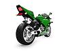 Мотоцикл вид сзади | Иллюстрация