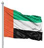 ID 3531348 | Wehende Flagge von Vereinigte Arabische Emirate | Illustration mit hoher Auflösung | CLIPARTO