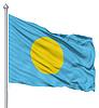 ID 3531383 | Wehende Flagge von Palau | Illustration mit hoher Auflösung | CLIPARTO