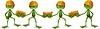Векторный клипарт: Лягушка строителей