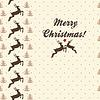 ID 3474418 | Etniczne Boże Narodzenie bez szwu z jelenia | Klipart wektorowy | KLIPARTO