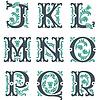 Vintage Alphabet. Teil 2