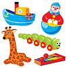 Kinderspielzeug | Stock Vektrografik