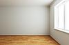 Neue, leere Zimmer mit Fenster | Stock Illustration