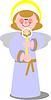 Lächelnder Engel