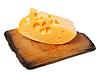 ID 3574761 | Stück Käse auf alten Holzbrett | Foto mit hoher Auflösung | CLIPARTO