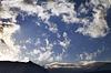 ID 3689760 | Blauer Himmel mit Wolken und Berge im Abendlicht | Foto mit hoher Auflösung | CLIPARTO