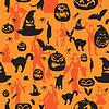 nahtloser Halloween-Hintergrund