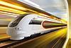 ID 3429931 | Super streamlined train in tunnel | Foto stockowe wysokiej rozdzielczości | KLIPARTO