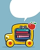 Powrót do autobus szkolny | Stock Vector Graphics