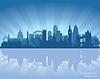 London, England Skyline   Stock Vektrografik