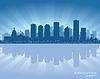 Edmonton, Kanada Skyline