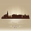 Galway Irland Skyline Stadtsilhouette