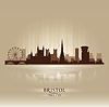 Bristol England Skyline Stadtsilhouette | Stock Vektrografik