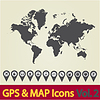 Weltkarte Symbol