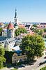 ID 3694818 | Widok na Stare Miasto w Tallinie, Estonia | Foto stockowe wysokiej rozdzielczości | KLIPARTO