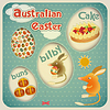 Easter Australian Card | Stock Vector Graphics