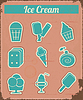 Ice Cream - Vintage-Labels