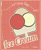 Ice Cream Karte