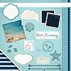 Scrapbooking Set: Sommer Reise