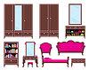 Векторный клипарт: Набор мебели